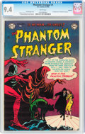 Golden Age (1938-1955):Horror, The Phantom Stranger #1 Spokane pedigree (DC, 1952) CGC NM 9.4White pages....