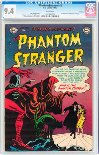 The Phantom Stranger #1 Spokane pedigree (DC, 1952) CGC NM 9.4 White pages