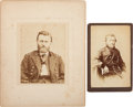 Photography:Cabinet Photos, Ulysses S. Grant: Cabinet Card & Studio Image on Mat Board....
