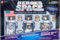 """Explorers:Space Exploration, """"Heroes of Space"""" Set of Three Action Figures in Original Display Box...."""