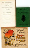 Books:Natural History Books & Prints, [Natural History] Group of Three Books Relating to Natural History. Various publishers and dates. Includes Asa Fitch's repor... (Total: 3 Items)
