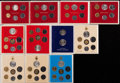 Vatican City, Vatican City: John Paul II Mint Set Lot 1979-87,... (Total: 68coins)