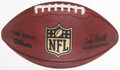 Football Collectibles:Balls, 2009 Philadelphia Eagles Vs. San Diego Chargers Game Used Football - Used 11/15....