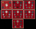Vatican City, Vatican City: Paul VI Mint Set Lot 1974-78,... (Total: 54 coins)