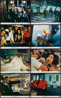 """Movie Posters:James Bond, Diamonds are Forever (United Artists, 1971). Mini Lobby Card Set of8 (8"""" X 10""""). James Bond.. ... (Total: 8 Items)"""