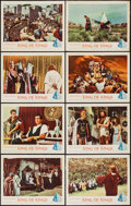 "Movie Posters:Historical Drama, King of Kings (MGM, 1961). Lobby Card Set of 8 (11"" X 14"").Historical Drama.. ... (Total: 8 Items)"