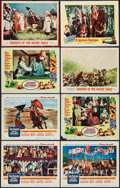 """Movie Posters:Adventure, King Richard and the Crusaders & Others Lot (Warner Brothers,1954). Lobby Cards (15) (11"""" X 14""""). Adventure.. ... (Total: 15Items)"""