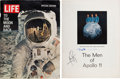 Autographs:Celebrities, Apollo 11 Crew-Signed Large Color LIFE Magazine Page, withProvenance. ...