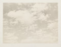 Fine Art - Work on Paper:Print, VIJA CELMINS (American, b. 1939). Sky (from Untitledportfolio), 1975. Lithograph in colors on Twinrocker handma...