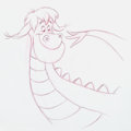 Animation Art:Production Drawing, Pete's Dragon Preliminary VHS Box Cover Drawing (Walt Disney, 2001).. ...