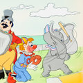 Animation Art:Production Drawing, Dumbo Illustration Original Art (Walt Disney, 1970s-80s)....