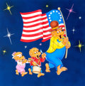 Animation Art:Production Drawing, Berenstain Bears Illustration Original Art (1990s)....