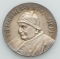 Vatican City, Vatican City: John XXIII (1958-63) bronze and silver Medal Pairwith Box 1960 UNC,... (Total: 2 coins)
