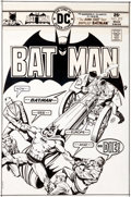 Original Comic Art:Covers, Ernie Chan (as Ernie Chua) Batman #273 Cover Original Art(DC, 1976).... (Total: 2 Items)