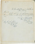 Autographs:U.S. Presidents, [Mexican War]. Ulysses S. Grant Autograph Letter Signed...