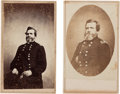 Photography:CDVs, Union General George H. Thomas: Two Cartes de Visite....