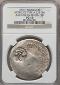 Mexico, Mexico: Revolutionary. Morelos Counterstamped 8 Reales ND (1811)VG10 NGC,...