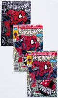 Modern Age (1980-Present):Superhero, Spider-Man #1/Peter Parker: Spider-Man #1 Group (Marvel, 1990-99)Condition: Average NM-.... (Total: 60 Comic Books)