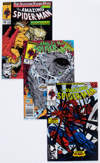 The Amazing Spider-Man Group (Marvel, 1989-90) Condition: Average NM-.... (Total: 88 Comic Books)