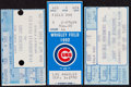 Baseball Collectibles:Tickets, 1986-92 Palmeiro, Piazza and Martinez Major League Debut TicketStubs Lot of 3....