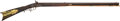 Long Guns:Muzzle loading, American .41 Caliber Percussion Half Stock Rifle, Leman LancasterLock...