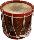 Military & Patriotic:Civil War, Civil War American Military Snare Drum with Inked Inscriptions....