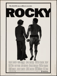 "Rocky (United Artists, 1977). Poster (30"" X 40""). Academy Award Winners"