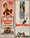 "Movie Posters:Western, The Restless Breed & Others Lot (20th Century Fox, 1957). Inserts (5) (14"" X 36""), Lobby Cards (12) (11"" X 14""), & Photos (1... (Total: 32 Items)"