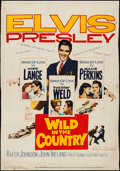 """Movie Posters:Elvis Presley, Wild in the Country & Other Lot (20th Century Fox, 1961). Trimmed Poster (27.25"""" X 40"""") & Poster (30"""" X 40""""). Elvis Presley.... (Total: 2 Items)"""