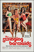 """Movie Posters:Sexploitation, The Swinging Barmaids & Other Lot (Premiere Releasing, 1975).One Sheets (38) (27"""" X 41"""") Flat Folded. Sexploitation.. ...(Total: 38 Items)"""