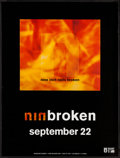 "Movie Posters:Rock and Roll, Nine Inch Nails: Broken (Interscope, 1992). EP Poster (24"" X31.5""). Rock and Roll.. ..."