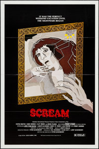"""Scream & Other Lot (Cal-Com Releasing, 1983). One Sheets (47) (27"""" X 41"""") Flat Folded. Horror. ... (To..."""