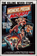 "Movie Posters:Exploitation, Women's Prison Massacre (Unistar, 1984). One Sheets (12) Identical(27"" X 41""). Exploitation.. ... (Total: 12 Items)"