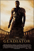 "Movie Posters:Action, Gladiator (Universal, 2000). One Sheets (2) (27"" X 40"") DS Advance& Regular Styles. Action.. ... (Total: 2 Items)"