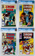 Modern Age (1980-Present):Superhero, Iron Man #201-204 CGC-Graded Group (Marvel, 1985-86) Condition: CGCNM/MT 9.8.... (Total: 4 Comic Books)