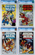 Modern Age (1980-Present):Superhero, Iron Man #215-217 and 224 CGC-Graded Group (Marvel, 1987)Condition: CGC NM/MT 9.8.... (Total: 4 Comic Books)