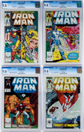 Modern Age (1980-Present):Superhero, Iron Man CGC-Graded Group (Marvel, 1988-89) Condition: CGC NM/MT9.8.... (Total: 4 Comic Books)