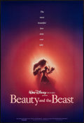 "Movie Posters:Animation, Beauty and the Beast & Other Lot (Buena Vista, 1991). One Sheets (2) (27"" X 40"") DS Advance & Regular. Animation.. ... (Total: 2 Items)"