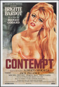 """Movie Posters:Foreign, Le Mepris (Rialto, R-2008). One Sheet (27"""" X 40"""") Foreign. Alternate Title: Contempt.. ..."""