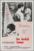 """Movie Posters:Adult, One Swedish Summer & Other Lot (U-M Film Distributors, 1968). One Sheets (2) (27"""" X 41"""") Flat Folded. Adult.. ... (Total: 2 Items)"""