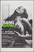 """Movie Posters:Sexploitation, Bang Bang & Other Lot (Canyon Dist. Co., 1970). One Sheets (2)(27"""" X 41""""). Sexploitation.. ... (Total: 2 Items)"""