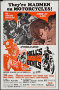 """Movie Posters:Exploitation, Hell's Bloody Devils & Other Lot (Independent-International,1970). One Sheets (2) (27"""" X 41"""") Flat Folded. Exploitation.. ...(Total: 2 Items)"""