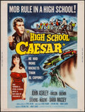 "Movie Posters:Exploitation, High School Caesar (Film Group, 1960). Poster (30"" X 40"").Exploitation.. ..."