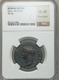 Ancients:Roman Imperial, Ancients: Nero (AD 54-68). AE as (no wt. given)....
