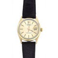 Timepieces:Wristwatch, Rolex Ref. 1550 Gold & Steel Gent's Oyster Perpetual Date,circa 1978. ...