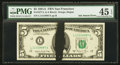 Error Notes:Ink Smears, Fr. 1977-L $5 1981A Federal Reserve Note. PMG Choice Extremely Fine45 EPQ.. ...