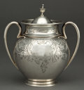 Silver Holloware, American:Creamers and Sugars, A TIFFANY & CO. SILVER COVERED SUGAR BOWL, Made by John C. Moore, New York, New York, circa 1854-1869. Marks: TIFFANY & C... (Total: 2 Items)