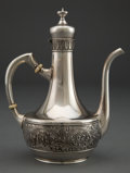 Silver Holloware, American:Tea Pots, A SMALL GORHAM ST. CLOUD PATTERN SILVER COFFEE POT,Providence, Rhode Island, circa 1885. Marks: (lion-anchor-g)...