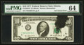Error Notes:Ink Smears, Fr. 2023-F $10 1977 Federal Reserve Note. PMG Choice Uncirculated64.. ...