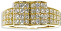 """Estate Jewelry:Rings, Diamond, Gold Ring, Van Cleef & Arpels. The heart-shaped ring from the """"Charley"""" collection, features pave set full-cut di..."""